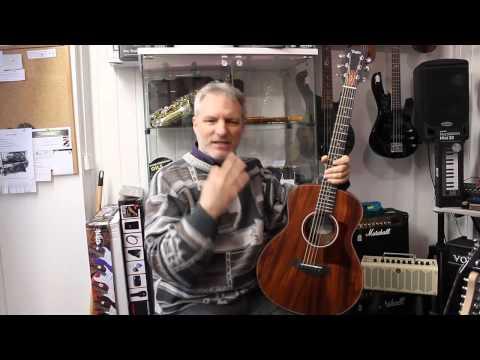 Guitar Review: Taylor GS mini Mahogany top