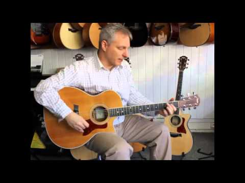 Guitar Review: Overview of Taylor acoustic models