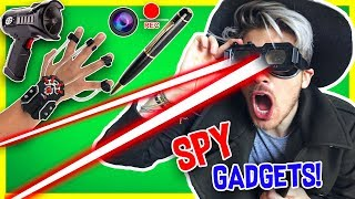TESTING REAL SPY GADGETS!