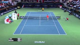 Video Highlights: ATP Semi-final Action