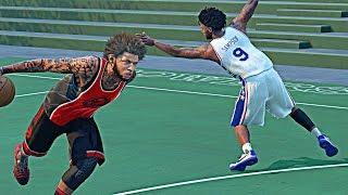NBA 2k16 My Park - I Broke A Legend 1 Ankles !
