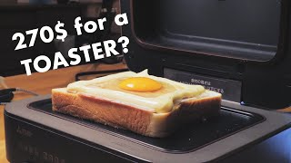We Tried The Most Expensive & High Tech TOASTER