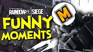 Why Rainbow Six Siege is AMAZING! (Funny Gameplay Moments)