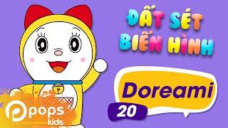 Đất Sét Biến Hình - Tập 20 - Doraemi - Hướng Dẫn Nặn Đất Sét Nhân Vật Doraemi