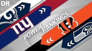 NFL Power Rankings Post 2018 Draft! | NFL Highlights