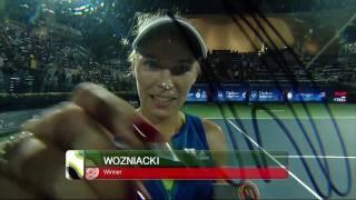 Highlights: WTA SF - Wozniacki d. Sevastova