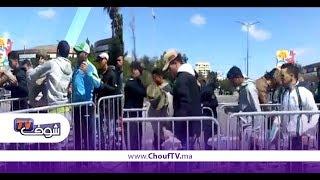 بالفيديو...جمهور الديربي خضع لتفتيش صارم قبل دخول مركب محمد الخامس بالبيضاء | بــووز