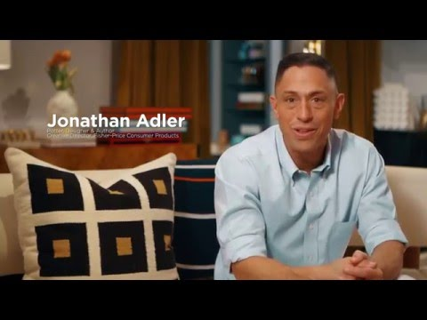 "Fisher-Price Names Jonathan Adler ""Creative Director,"" Evolving The Brand With Modern Design"