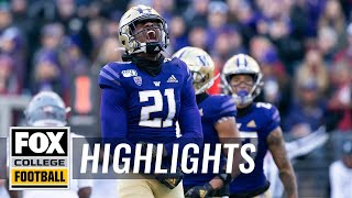 Washington beats Washington State for their 7th straight Apple Cup trophy | HIGHLIGHTS | CFB ON FOX