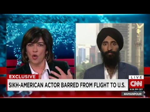 Sikh American Model Waris Ahluwalia explains what happened at Mexico City Airport