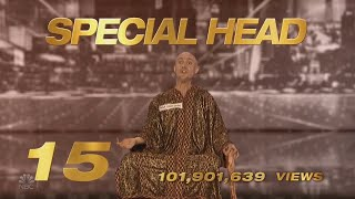 America's Got Talent 2020 Special Head Number 15 AGT Top 15 Viral Memorial Moments S15E10