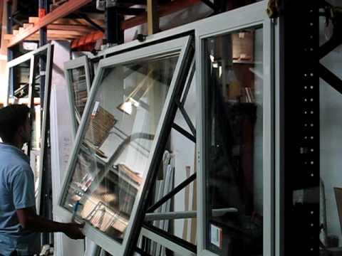 Agodos: Ejemplo Ventana proyectante Aluminio Madera