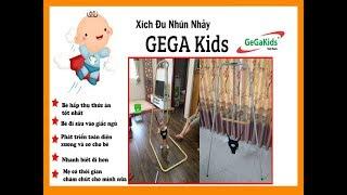 Xích đu Nhún Nhảy GehaKids _ Top 10 đồ chơi giúp trẻ phát triển trí não