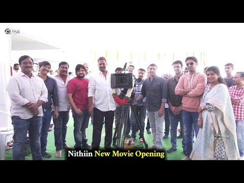 Nithiin New Movie Opening