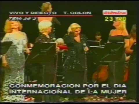 VIOLETA RIVAS - ESTELA RAVAL  Honrar la vida (teatro Colon)