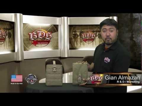 BDS Tactical Map Case w/Modular Pouch
