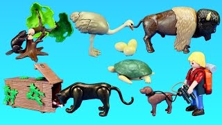 Playmobil Wildlife Animals Figures and Building Toy Sets For Kids