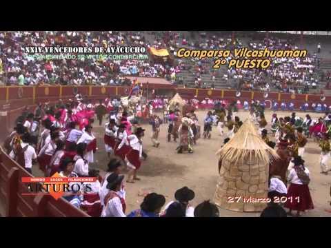 XXIV VENCEDORES DE AYACUCHO 2011-COMPARSA VILCASHUAMAN