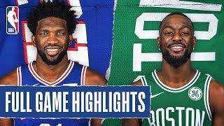 76ERS at CELTICS | FULL GAME HIGHLIGHTS | December 12, 2019