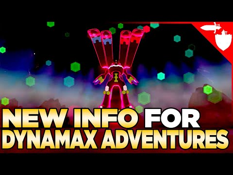 LOTS of New Info about Dynamax Adventures for Pokemon Sword & Shield DLC Crown Tundra