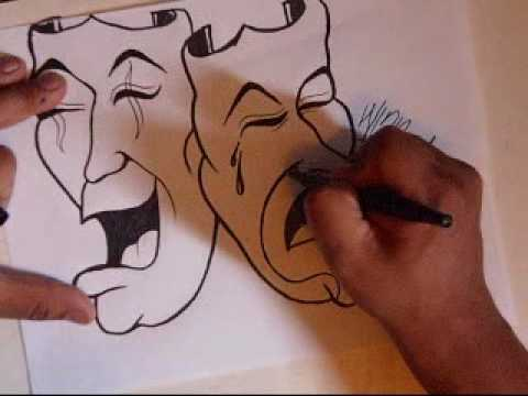 step by step how to draw a clown chicano rap oldies