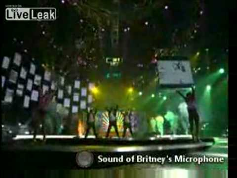 Britney Spears' live, isolated microphone feed. Unbelievable.