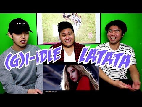 (G)I-DLE - LATATA MV REACTION (FUNNY FANBOYS)