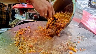 Chole Kulche for Rs 50 | Cheapest Chole Kulche in Mumbai | Indian Street Food