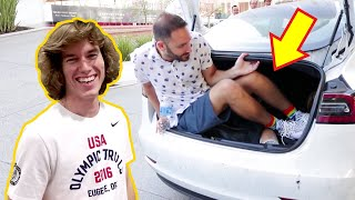 Stranger Rides In My Trunk!