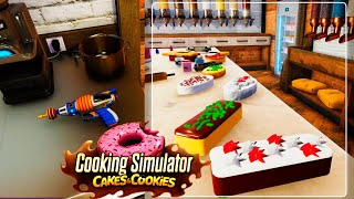 Cakes and new Kitchen TOOL... Cooking Simulator Cakes and Cookies #6