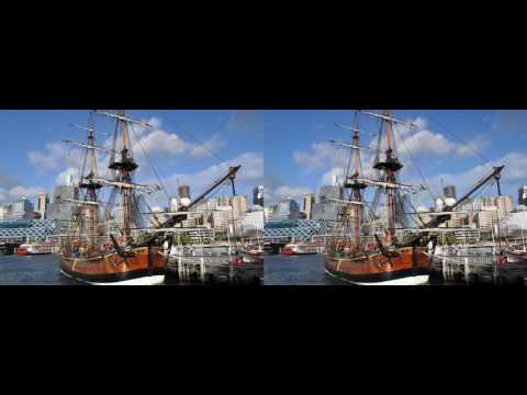 Sydney 3D for Google Cardboard, SBS-full width, 1080p by Roman Klein