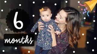HAPPY HALF BIRTHDAY! || BABY'S 6 MONTH UPDATE!