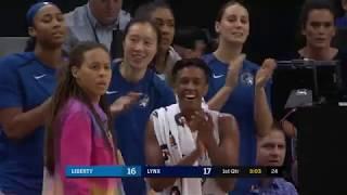 Highlights | Lynx 92, Liberty 83 (6.22.2019)
