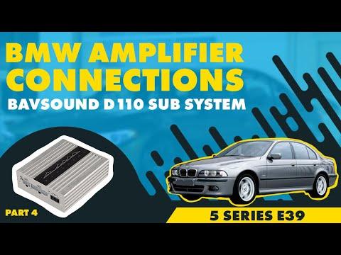 bmw e39 5 series non dsp 4 4 final amplifier connections. Black Bedroom Furniture Sets. Home Design Ideas