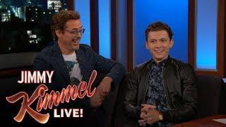 Robert Downey Jr. & Tom Holland on Spider-Man: Homecoming