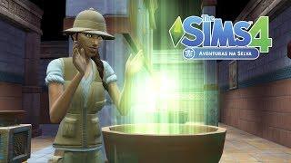 LARA CROFT FICOU COM INVEJA   Desafio do Náufrago   The Sims 4 #30