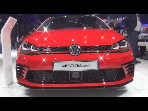 Volkswagen Golf GTI Clubsport 2.0 TSI 265 hp (2016) Exterior and Interior in 3D
