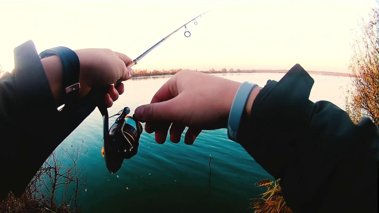 Рыбалка на карьере в кудиновском
