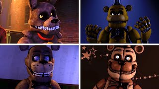 Every FNAF Fazbear Fright Animatronic in a nutshell animated
