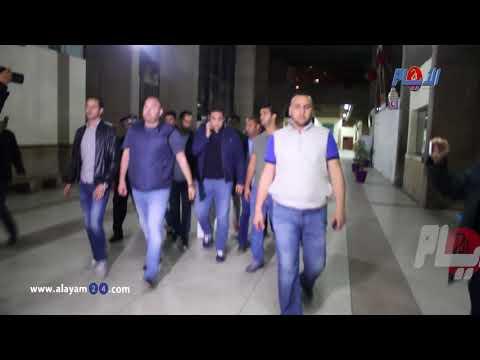 """حصري : لحظة وصول """"حنان باكور """" إلى محكمة الإستئناف وسط تطويق أمني مكثف"""