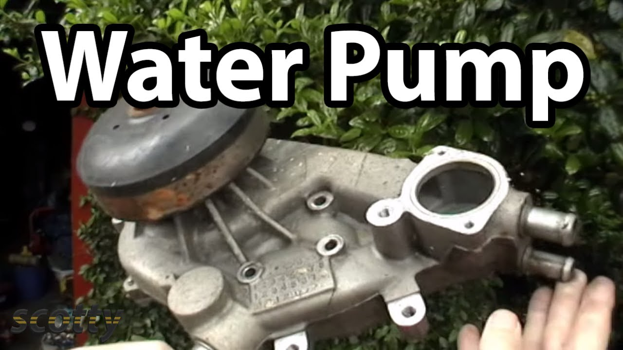 How To Change A Waterpump Youtube