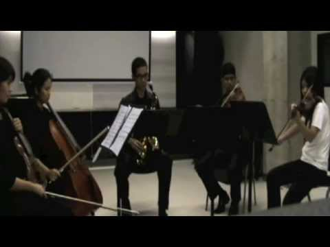 Quintet for Saxophone and String by Russell Peterson