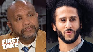 Hue Jackson: I didn't feel comfortable attending Colin Kaepernick's alternate workout | First Take