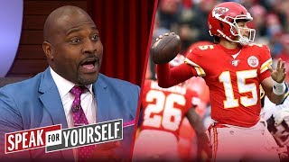 'Patrick Mahomes is a better player now than he was last year' — Wiley | NFL | SPEAK FOR YOURSELF