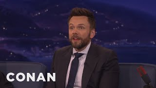 Joel McHale's 8-Year-Old Son Is Super Sarcastic  - CONAN on TBS