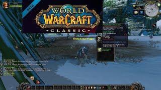 World of Warcraft: Classic Beta! Rogue leveling! Bonus Deadmines Stream!