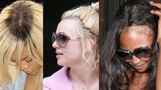 CELEBRITIES WHO WEAR WEAVE (Worst Hairstyles)