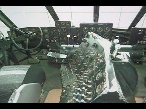 Inside Howard Hughes HK1 Hercules/Spruce Goose - McMinnville, Oregon