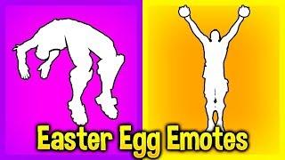 These 5 Fortnite EMOTES Have SECRET Hidden Features..! (Easter Egg Emotes)