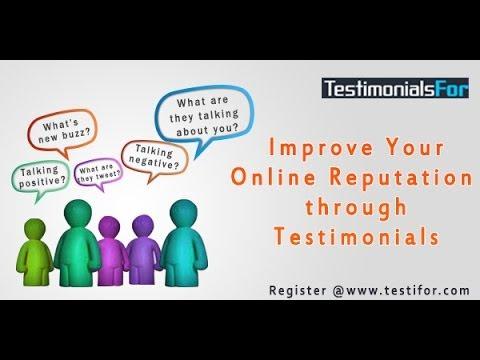 TestimonialsFor - Testimonials and Online Reputation Management System
